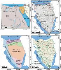 Sinai Peninsula On World Map by Groundwater Potentiality Mapping In The Sinai Peninsula Egypt