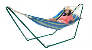 furniture great free standing hammock for enjoying the summer