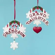 granddaughter grandson ornaments products