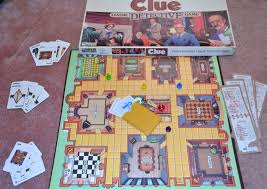 the man who stares at toys snowed in play a board game