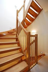 bespoke wooden stair west london timber stair systemstimber