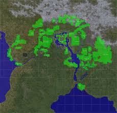Suikoden World Map by Unique Landscapes In Game Map At Oblivion Nexus Mods And Community