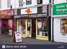 tattoo sign shop front stock photos u0026 tattoo sign shop front stock