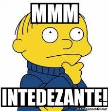 Mmm Meme - meme personalizado mmm intedezante 100588