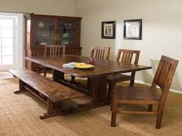 outstanding dining room decoration with trestle dining table