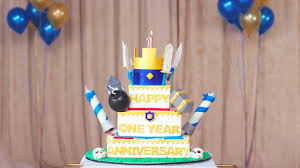 clash royale let u0027s blow up the candles our one year anniversary
