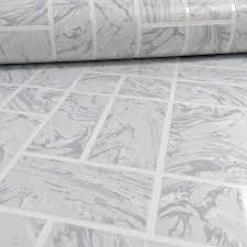 holden marble tile pattern effect kitchen bathroom wallpaper 89251