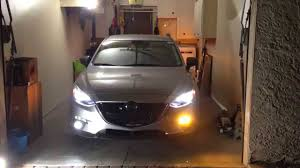 2016 mazda 3 fog light kit mazda3 fog light turn signal switchback mod youtube