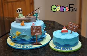 fish birthday cakes fishing birthday cake 259 cakes cakesdecor