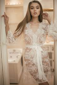 bridal nightwear honeymoon lace bridal robe d4lingerie bridal wedding