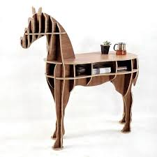 amazon com other home office wooden horse style desk black