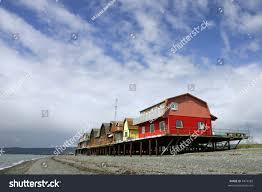 houses on stilts on beach homer stock photo 4474582 shutterstock
