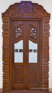 Pooja Room Wooden Door Designs