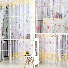 Outdoor Curtain Fabric by Home Textile Flower Embroidered Chinese Luxury 3d Window Curtains