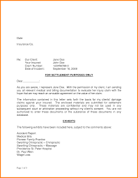 Sample Legal Letters To Clients by Settlement Letter Example Settlement Letter Example 4 Example