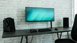 Modern Industrial Desk by Dream Desk Setup Modern Industrial Concrete Design Youtube
