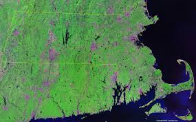 massachusetts satellite images landsat color image