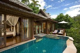 luxury villa terrace view wallpaper other wallpaper better