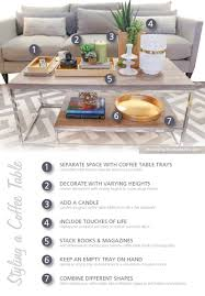 7 coffee table styling tips for a chic tabletop hm etc