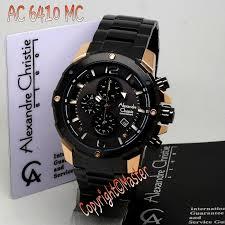 Jam Tangan Alexandre Christie Cowok jam tangan alexandre christie ac6410 mc black gold