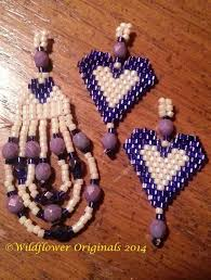 earrings and things 16 best bead bows images on beadwork and brick