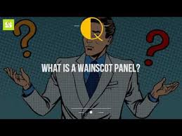 Wainscot America What Is A Wainscot Panel Youtube