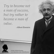 einstein quote about success and value aevalue u2013 hobuttz com