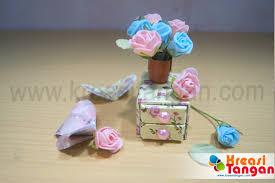 tutorial kerajinan tangan dari kertas gulung kerajinan tangan membuat vas bunga dari kertas kreasi tangan