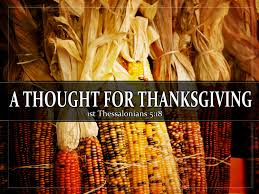 aboveblog a thought for thanksgiving