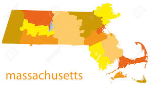 Massachusetts Blank Map by 324 Massachusetts Outline Stock Illustrations Cliparts And