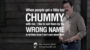 Quote Meme - ron swanson birthday quote lovely 14 funny ron swanson quotes and