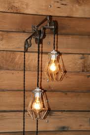 1000 images about pulley lights on pinterest hanging bedroom wall