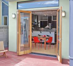 indoor outdoor kitchen designs kitchen designs with bifold doors kitchen transitional with bifold