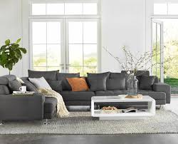 dania sink into the all around comfort of the cepella sectional