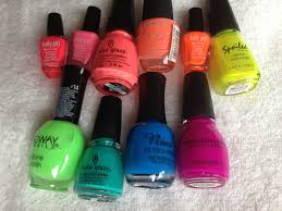 all about the neon polish me snazzy