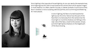 Short Lighting To Achieve Split Lighting Simply Put The Light Source 90 Degrees