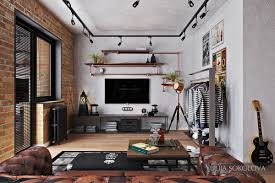 industrial style loft how to design industrial style bachelor pads 4 examples spaces