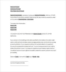 eviction template u2013 12 free word excel pdf format download