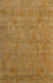 Gold Area Rugs Pasargad Ny Modern Knotted Wool Gold Area Rug Reviews