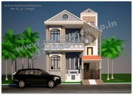 Row House Front Elevation - front elevation design of indian houses house design