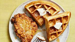 thanksgiving waffle quick fried chicken and waffles