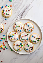 christmas lights christmas lights cookies with royal icing dessert for two