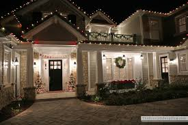 Brylane Home Christmas Decorations Christmas Porch Decorations Lighted Garland And Red Bows Create A