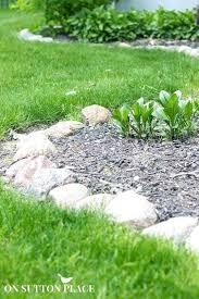 Rock Borders For Gardens Rock Garden Edging Garden Rock Garden Landscaping Ideas For