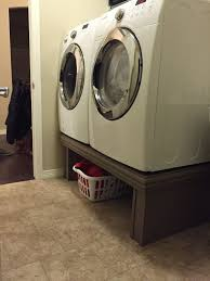 Samsung Pedestals For Washer And Dryer White 12 Step Washer Dryer Pedestal 12 Steps With Pictures