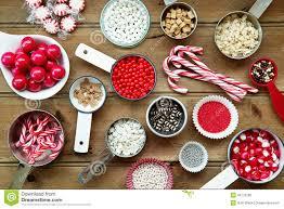 christmas cupcake decorations stock photo image 46175286
