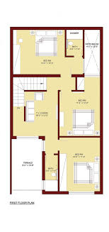 house plans with room 100 sq m home plan 5 marla 4 bed room 5 marla house plan home