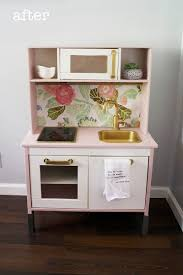 Ikea Play Kitchen Hack by Easy Ikea Duktig Play Kitchen Makeover Food Fun Kids