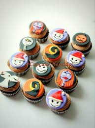 nightmare before christmas cupcake toppers the nightmare before christmas fondant by cupcakenovelties on zibbet
