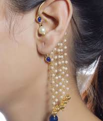 ear cuffs india earrings beautiful earrings online much more beautiful pearl
